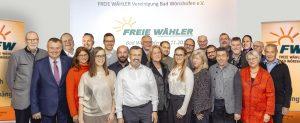 Vorstellung unseres Bürgermeisterkandidaten und unserer StadtratskandidatInnen @ Alte Schule Kirchdorf